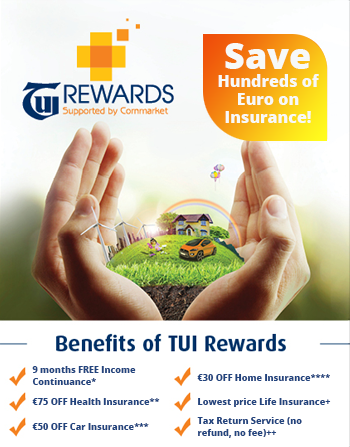 TUI rewards